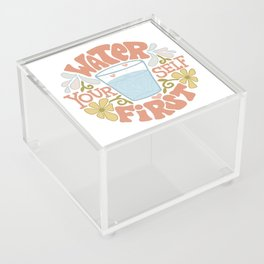 Water Yourself First Acrylic Box