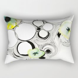 Flow in Circles Rectangular Pillow