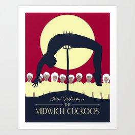 Midwich Cuckoos Design Art Print