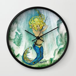 Siren Wall Clock
