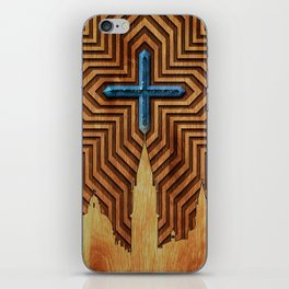 Venice - King of the sea - Wood decoration iPhone Skin