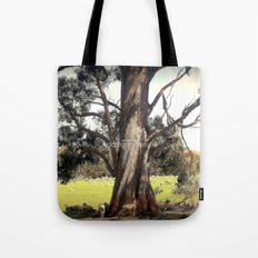 Under the shade of a Coolabah Tree Tote Bag
