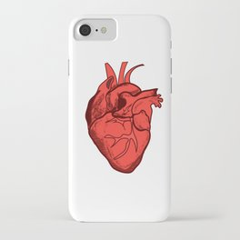 Healthy Happy Heart iPhone Case