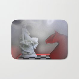 the other Chess-Lady Bath Mat