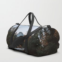 Half Dome from Sentinel Bridge Duffle Bag