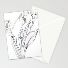 Calla Lily Point Stationery Cards