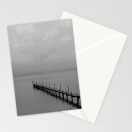 Misty Morning At The Lake Stationery Cards