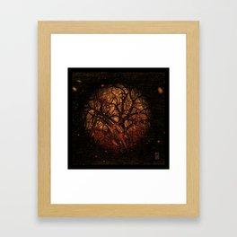 Arbor Mundi - Tree Cosmos Framed Art Print