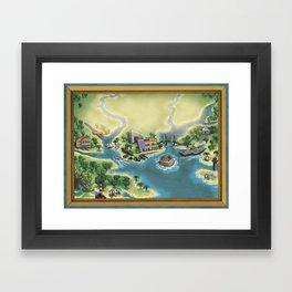 Charleston, SC Framed Art Print
