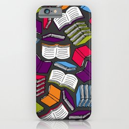 So Many Colorful Books... iPhone Case