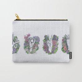 LOVE- ASL alphabet art Carry-All Pouch
