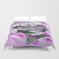 street Duvet Covers featuring STREET by Zumico