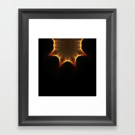 Neck Brace Fractal 2 Framed Art Print