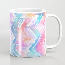 Ikat Chevron 4b Coffee Mug