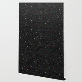 Cactus Silk In Black Wallpaper