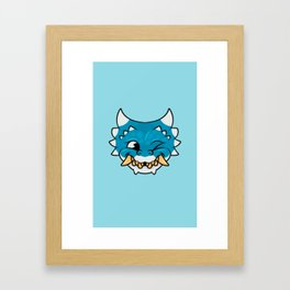 Chipper Dragon Framed Art Print