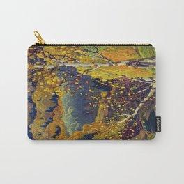 Franklin Carmichael Canadian artist Art Nouveau Post-Impressionism October Gold Carry-All Pouch