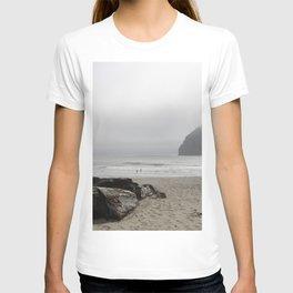 Haystack Rock At Cannon Beach T-shirt