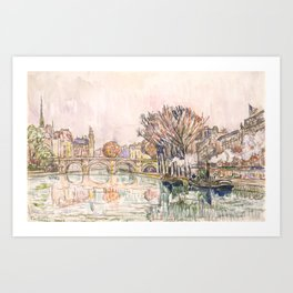 "Paul Signac ""The Pont Neuf, Paris"" Art Print"