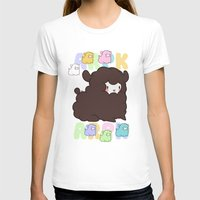 alpaca T-shirts featuring Little alpaca by Lady Cibia