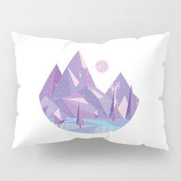 Geometric Nature Pillow Sham