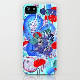 Alien Organism 30 iPhone Case