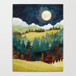 Autumn Moon Poster