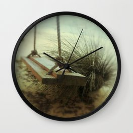 Beach Swing Wall Clock