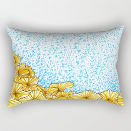 Cantharellus noumeae coral Rectangular Pillow
