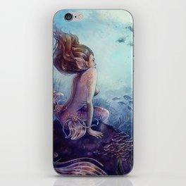Siren of the reef iPhone Skin