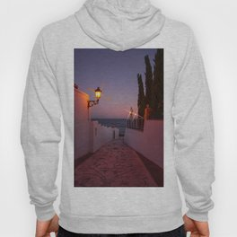 Pathway to the Sea - Sunset image Hoody