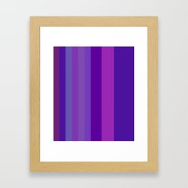 Purplerys Framed Art Print