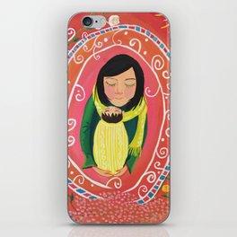 A Little Prayer   Yuko Nagamori iPhone Skin