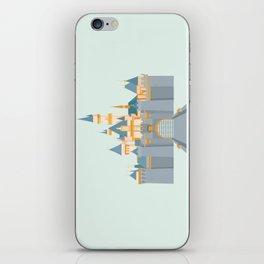 Sleeping Beauty Castle iPhone Skin