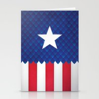 america Stationery Cards featuring America by gallant designs