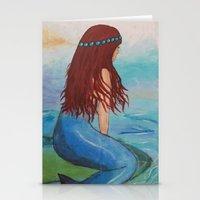 marina Stationery Cards featuring Marina by Ashalika