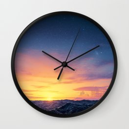 Black Seas of Ackosin Wall Clock