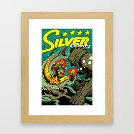 Silver Comics #1, 2004 Framed Art Print