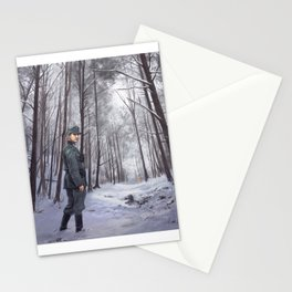 A Man Without Breath Stationery Cards