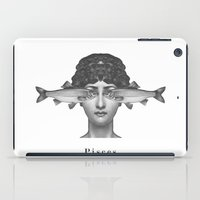 pisces iPad Cases featuring Pisces by A.M.