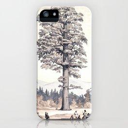 L'Illustration horticole iPhone Case