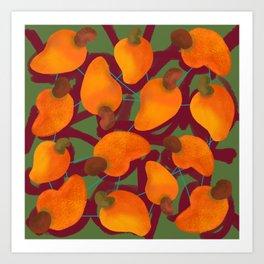 Cajufolia darker Art Print