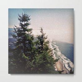 Neahkahnie Mountain Beach Oregon Coast Photo Metal Print