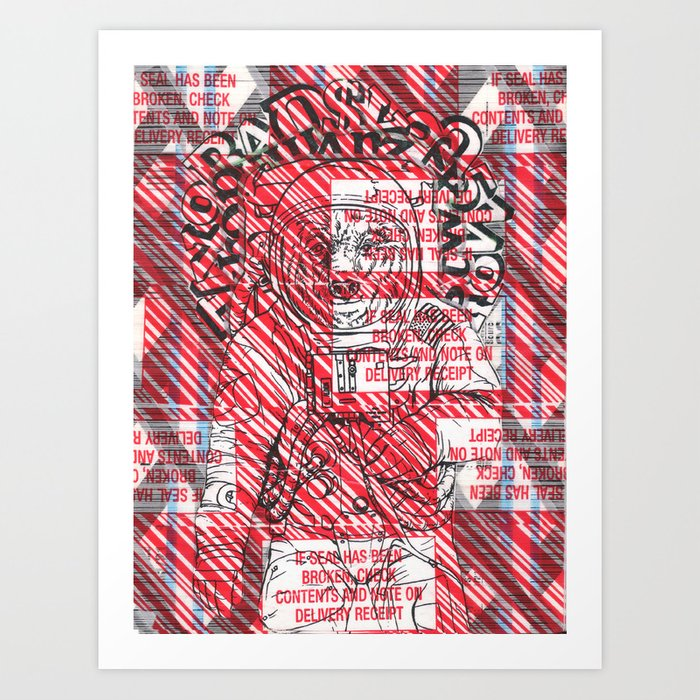 Astrobear Art Print