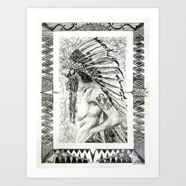 Denali Art Print