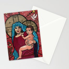 Madonna and Child Stationery Cards