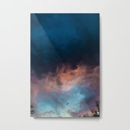 Somewhere Above Metal Print