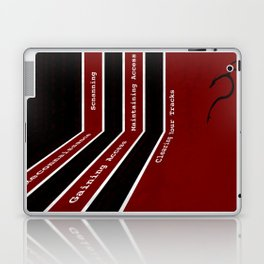 Phases of Cyber Security Laptop & iPad Skin