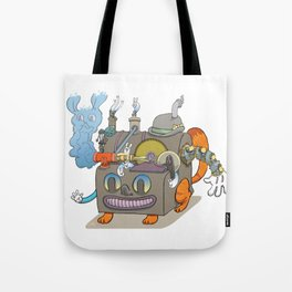 The Novelty Machine Tote Bag