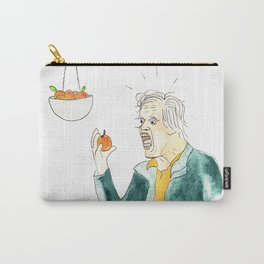 Gary Busey Eats a Peach Carry-All Pouch